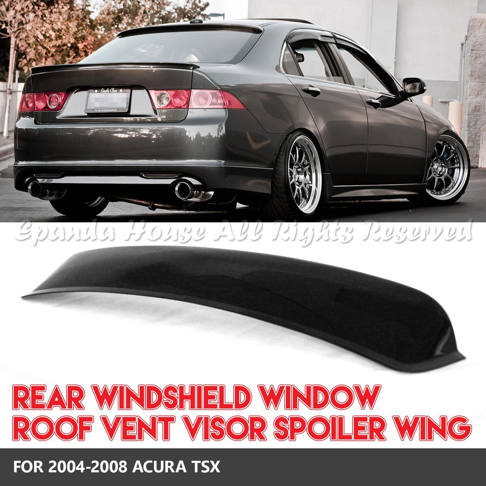 FOR 04-08 ACURA TSX 1PC REAR WINDOW ROOF VISORS SUN GUARD
